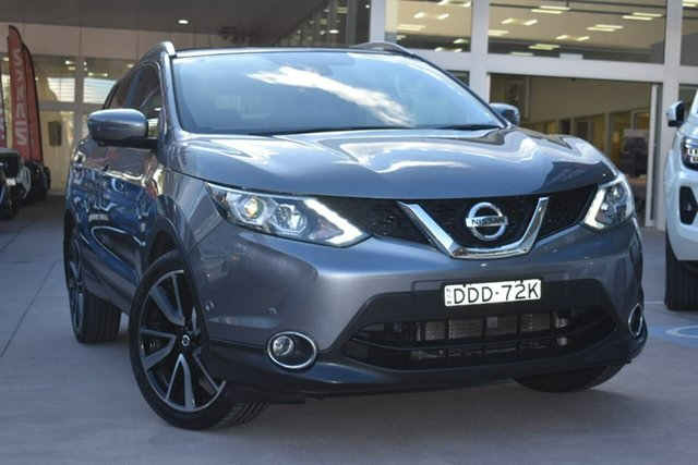 Used Nissan Qashqai J11 TI Blacktown, 2015 Nissan Qashqai J11 TI Gun Metallic 1 Speed Constant Variable Wagon