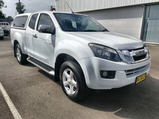 2014 Isuzu D-MAX MY14 LS-U Space Cab White 5 Speed Sports Automatic Utility.