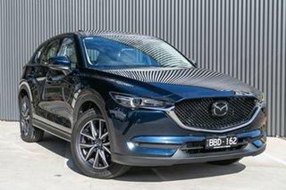 2021 Mazda CX-5 KF4WLA GT SKYACTIV-Drive i-ACTIV AWD Deep Crystal Blue 6 Speed Sports Automatic.