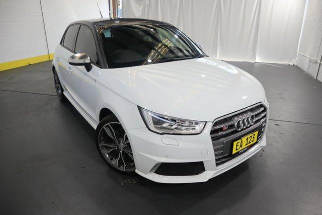 Used Audi S1 8X MY18 Sportback Quattro Castle Hill, 2017 Audi S1 8X MY18 Sportback Quattro White 6 Speed Manual Hatchback
