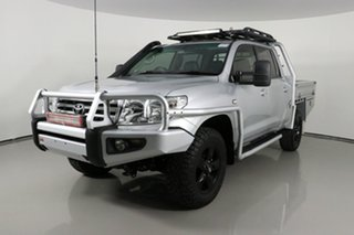 2011 Toyota Landcruiser VDJ200R 09 Upgrade Sahara (4x4) Silver 6 Speed Automatic Wagon.