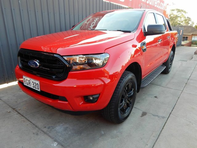 Used Ford Ranger PX MkIII 2021.25MY Sport Blair Athol, 2020 Ford Ranger PX MkIII 2021.25MY Sport Red 6 Speed Sports Automatic Double Cab Pick Up