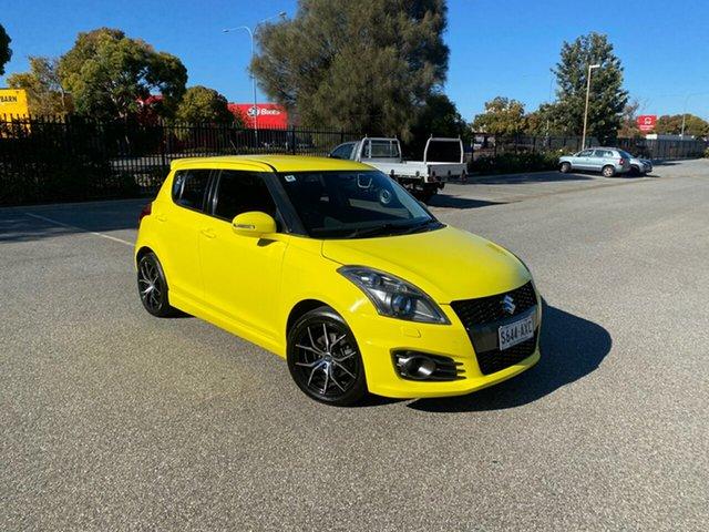 Used Suzuki Swift FZ Sport Mile End, 2013 Suzuki Swift FZ Sport Yellow 7 Speed Constant Variable Hatchback