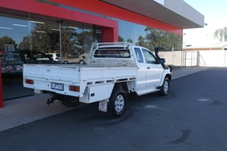 2009 Toyota Hilux KUN26R MY09 SR Xtra Cab White 5 Speed Manual Cab Chassis
