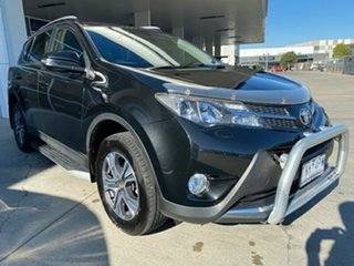 2013 Toyota RAV4 ALA49R Cruiser AWD Black 6 Speed Sports Automatic Wagon.