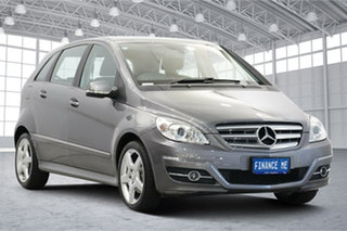 2010 Mercedes-Benz B-Class W245 MY10 B200 Grey 7 Speed Constant Variable Hatchback.