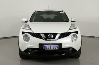 2017 Nissan Juke F15 Series 2 TI-S (AWD) White Continuous Variable Wagon.