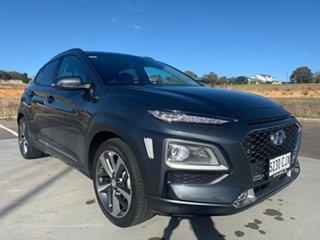 2020 Hyundai Kona OS.3 MY20 Highlander 2WD Grey 6 Speed Sports Automatic Wagon.