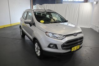 2016 Ford Ecosport BK Titanium PwrShift Silver 6 Speed Sports Automatic Dual Clutch Wagon.
