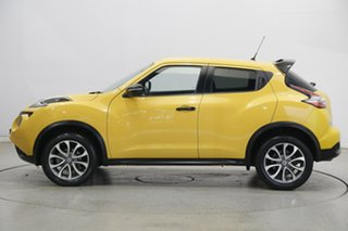 2016 Nissan Juke F15 Series 2 ST X-tronic 2WD Yellow 1 Speed Constant Variable Hatchback.