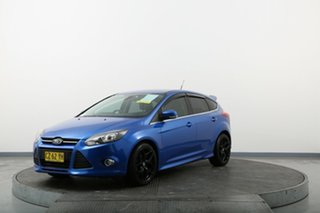 2014 Ford Focus LW MkII Sport PwrShift Blue 6 Speed Sports Automatic Dual Clutch Hatchback