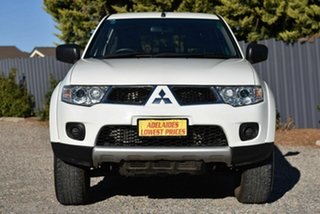2012 Mitsubishi Challenger PB (KH) MY12 White 5 Speed Sports Automatic Wagon.
