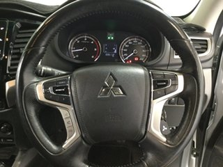 2018 Mitsubishi Triton MR MY19 GLS Double Cab Silver 6 Speed Manual Utility