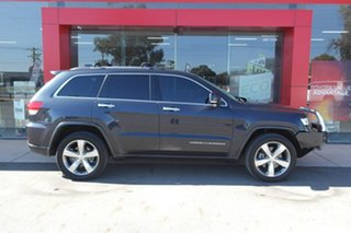 2014 Jeep Grand Cherokee WK MY15 Overland Black 8 Speed Sports Automatic Wagon.