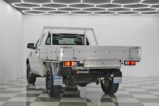 2014 Ford Ranger PX XL 2.2 Hi-Rider (4x2) White 6 Speed Automatic Cab Chassis