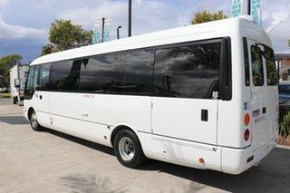 2011 Mitsubishi Rosa BE64D White Automatic Midi Coach