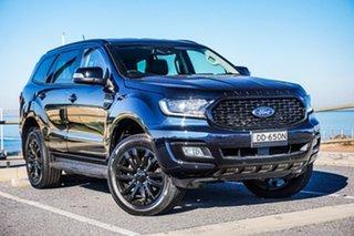 2019 Ford Everest UA II 2020.25MY Sport Blue 10 Speed Sports Automatic SUV.