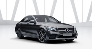 2021 Mercedes-Benz C-Class W205 801MY C200 9G-Tronic Graphite Grey 9 Speed Sports Automatic Sedan