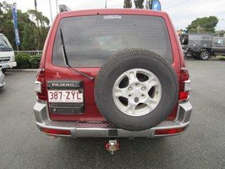 2000 Mitsubishi Pajero NM Exceed Red 5 Speed Sports Automatic Wagon