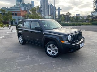 2014 Jeep Patriot MK MY14 Sport 4x2 Grey 5 Speed Manual Wagon.