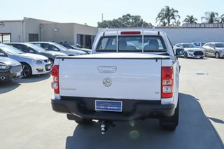 2015 Holden Colorado RG MY16 LS Crew Cab White 6 Speed Sports Automatic Utility