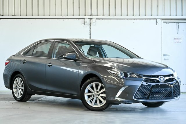 Used Toyota Camry AVV50R Atara S Laverton North, 2017 Toyota Camry AVV50R Atara S Graphite 1 Speed Constant Variable Sedan Hybrid
