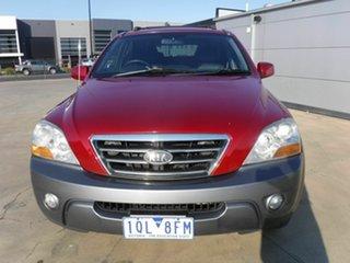 2008 Kia Sorento BL MY08 EX-L Red 5 Speed Sports Automatic Wagon