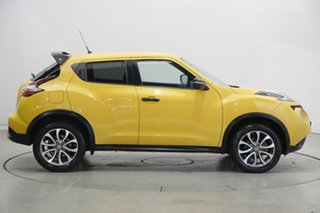 2016 Nissan Juke F15 Series 2 ST X-tronic 2WD Yellow 1 Speed Constant Variable Hatchback