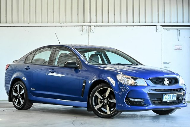 Used Holden Commodore VF II MY16 SV6 Black Laverton North, 2016 Holden Commodore VF II MY16 SV6 Black Blue 6 Speed Sports Automatic Sedan