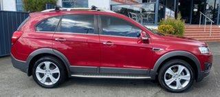 2014 Holden Captiva CG MY15 7 AWD LTZ Red 6 Speed Sports Automatic Wagon.