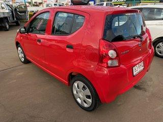 2010 Suzuki Alto GF GL Red 4 Speed Automatic Hatchback.