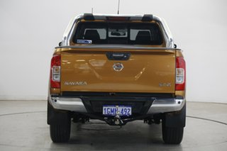 2018 Nissan Navara D23 S3 ST-X Orange 7 Speed Sports Automatic Utility