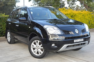 2011 Renault Koleos H45 MY11 Dynamique Black 1 Speed Constant Variable Wagon.