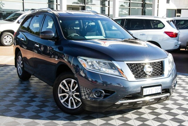 Used Nissan Pathfinder R52 MY15 ST X-tronic 2WD Attadale, 2015 Nissan Pathfinder R52 MY15 ST X-tronic 2WD Blue 1 Speed Constant Variable Wagon
