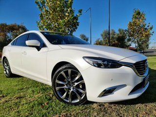 2016 Mazda 6 GL1031 GT SKYACTIV-Drive White 6 Speed Sports Automatic Sedan.