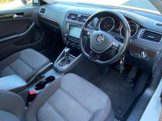 2016 Volkswagen Jetta 1B 118TSI Comfortline White Sports Automatic Dual Clutch Sedan