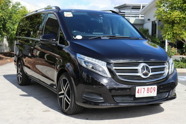Used Mercedes-Benz V-Class 447 V250 d 7G-Tronic + Avantgarde Robina, 2016 Mercedes-Benz V-Class 447 V250 d 7G-Tronic + Avantgarde Black 7 speed Automatic Wagon