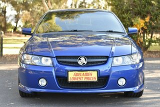 2004 Holden Commodore VZ SS Blue 6 Speed Manual Sedan.