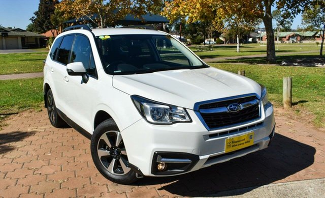 Used Subaru Forester S4 MY18 2.0D-L CVT AWD Ingle Farm, 2018 Subaru Forester S4 MY18 2.0D-L CVT AWD White 7 Speed Constant Variable Wagon