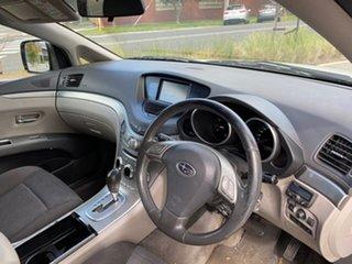 2008 Subaru Tribeca B9 MY08 R AWD White 5 Speed Sports Automatic Wagon