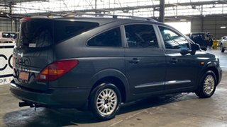 2010 Ssangyong Stavic A100 MY08 Grey 5 Speed Sports Automatic Wagon