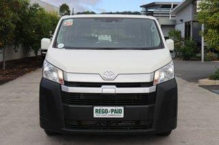 2020 Toyota HiAce GDH300R LWB French Vanilla 6 speed Automatic Van.