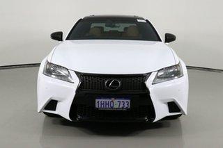 2014 Lexus GS350 GRL10R MY14 F Sport White 8 Speed Automatic Sedan.