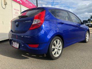 2011 Hyundai Accent RB Active Blue 4 Speed Sports Automatic Hatchback