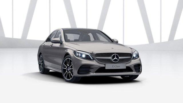 Demonstrator Mercedes-Benz C-Class W205 801MY C200 9G-Tronic Mulgrave, 2021 Mercedes-Benz C-Class W205 801MY C200 9G-Tronic Mojave Silver 9 Speed Sports Automatic Sedan