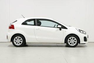 2016 Kia Rio UB MY16 S White 6 Speed Manual Hatchback