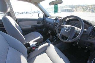 2009 Isuzu D-MAX MY09 SX Grey 5 Speed Manual Cab Chassis.
