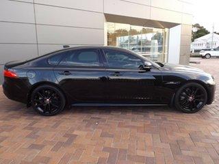 2016 Jaguar XF X260 MY16 R-Sport Black 8 Speed Sports Automatic Sedan.