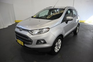 2016 Ford Ecosport BK Titanium PwrShift Silver 6 Speed Sports Automatic Dual Clutch Wagon