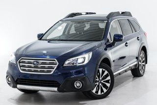 2018 Subaru Outback B6A MY18 3.6R CVT AWD Blue 6 Speed Constant Variable Wagon.